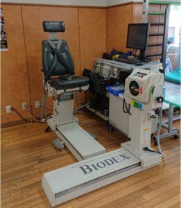 等速性筋力測定器 BIODEX